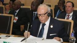 En Ethiopie, Béji Caïd Essebsi exhorte les pays africains à la