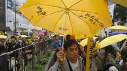 '우산혁명'은 끝나지 않았다 : 홍콩 거리행진