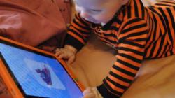 대만, 2세 미만 태블릿 사용하면