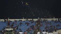 Le match pour la 3e place entre la Guinée Equatoriale et la RD Congo avec des spectateurs malgré les