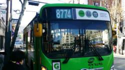 이 버스의 번호가 '8'로 시작하는