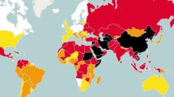 La Tunisie fait moins bien que l'Algérie mais devance le Maroc au classement mondial de la liberté de la
