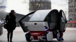 영국, 무인자동차 도로주행 실험 시작 (사진,