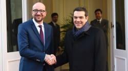 «Σε κρίσιμο σταυροδρόμι η Ευρώπη, πρέπει να γεφυρώσει τις διαφορές», είπε ο Τσίπρας μετά τη συνάντηση με τον Βέλγο