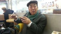 평창을 향한 나가노 주민의