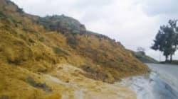 Eboulement aux gorges de la Chiffa: l'axe routier Blida- Médéa fermée à la