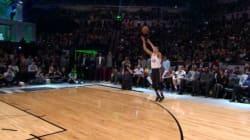 Ce basketteur fait un dunk digne de