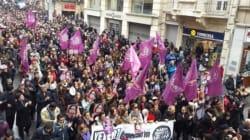터키 여대생 성폭행 살인 사건에 대규모