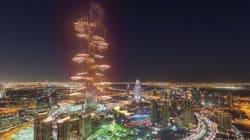 타임랩스로 찍은 두바이의