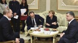 Πούτιν, Ποροσένκο, Μέρκελ και Ολάντ -ξανά- συμφώνησαν για εκεχειρία στην