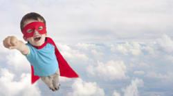 Auch Superhelden brauchen Helfer - Ja zum