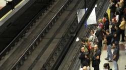 Scandale dans le métro à Madrid: Gays et mendiants