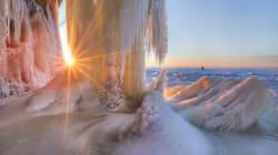 Οι παγωμένες σπηλιές των Apostle Islands με την ασύλληπτη
