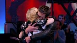 L'émouvante accolade entre Madonna et Luz au