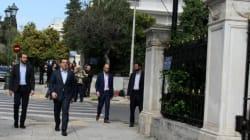 Προς τιμήν Παυλόπουλου στο ίδιο τραπέζι Τσίπρας -