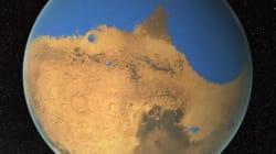 화성의 1/5은 한때 거대한