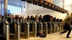 런던브릿지 기차역의 어느 퇴근 시간