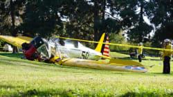 Σοβαρά τραυματισμένος ο ηθοποιός Χάρισον Φορντ μετά τη συντριβή του αεροπλάνου
