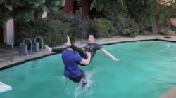 Το βίντεο που σαρώνει: Νεαρός κάνει απίστευτες λαβές του WWE σε κοπέλες και τις ρίχνει... στην
