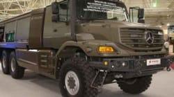 SNVI Rouiba et Mercedes Benz présentent le nouveau modèle Zetros