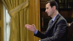 Bachar Al-Assad, toujours au pouvoir après quatre ans de guerre