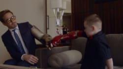 Όταν ο Robert Downey Jr έδωσε σε 7χρονο αγοράκι το βιονικό χέρι του