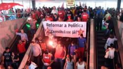 Le Brésil divisé entre manifestants pro-Petrobras et