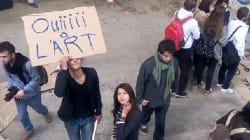 Les étudiants de l'École supérieure des beaux arts entament une grève