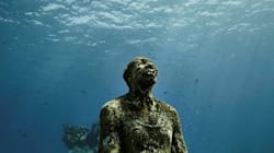 멕시코 칸쿤 바닷속에는 미술관이