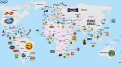 Quelle est la bière préférée de chaque pays du