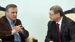 Habib Essid rencontre un ressortissant colombien qui a perdu sa femme et son