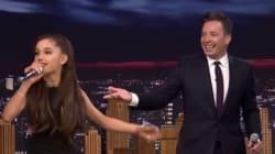 Ariana Grande imite Céline Dion à la