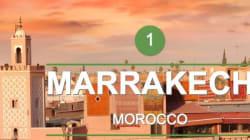 Marrakech, meilleure destination dans le monde pour