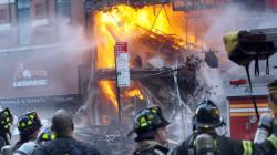 19 blessés à Manhattan dans l'effondrement d'un immeuble suivi d'un