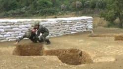 Βίντεο που κόβει την ανάσα: Εκπαιδευτής σώζει στρατιώτη μετά από λανθασμένη ρίψη