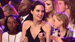 La moue de la fille de Brad Pitt et Angelina Jolie inspire les