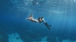 Ces photos de mariage sous l'eau vont vous faire