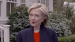 Hillary Clinton candidate à la présidentielle américaine de