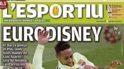 La victoire du Barça contre le PSG en Ligue des Champions rend la presse catalane