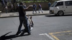 Afrique du Sud: Une brève scène de rage
