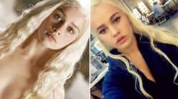 Quand Daenerys Targaryen sera nue, ce sera