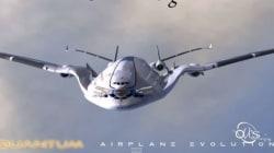 Έτσι θα μοιάζουν τα επιβατηγά αεροπλάνα του