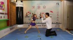 카자흐스탄 소녀의 놀라운
