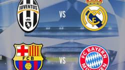 Ligue des champions: Barcelone-Bayern Munich en
