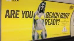 런던시장, 지하철역 비현실적 몸매 광고 규제
