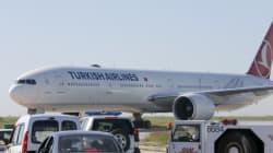 Αναγκαστική προσγείωση για τουρκικό αεροσκάφος με κινητήρα στις