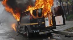 Emeutes à Baltimore après les obsèques d'un jeune Noir, l'état d'urgence