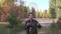 Ατρόμητη επιστήμονας εισβάλει στα άδυτα του Τσέρνομπιλ και υποστηρίζει ότι δεν κινδυνεύει από τη