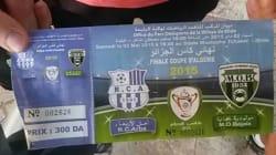 Coupe d'Algérie: billets gratuits pour les supporteurs du MO