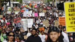 '볼티모어 흑인사망' 경관 기소에도 주말시위